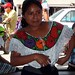 Beautiful woman in the market - Mujer de Sibaca, Tianguis de Ocosingo, Chiapas, Mexico