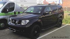 "Nissan Pathfinder alloy wheels mirror black We Fix Alloys • <a style=""font-size:0.8em;"" href=""http://www.flickr.com/photos/75836697@N06/10378668105/"" target=""_blank"">View on Flickr</a>"