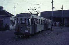 Once upon a time - Belgium - Charleroi (railasia) Tags: bus belgium depot sixties charleroi stic metergauge traminfra motorcartrailer
