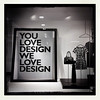 you love design we love design (Jon Downs) Tags: bw white black art monochrome shop digital john downs photography grey mono photo jon flickr artist noir photographer phone image gray picture lewis pic photograph partnership johnlewis shopfront 3gs iphone hipstamatic jondowns youlovedesignwelovedesign