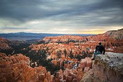 on the cliff at bryce (alexhophotography) Tags: bryce brycecanyon