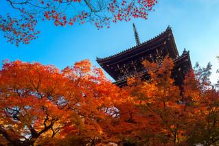 三重塔 - 真如堂 / Shinnyo-do Temple