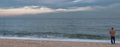 2 fishing poles (LennyNJ) Tags: ocean newjersey fishing nj jerseyshore atlanticocean oceancounty seagirt