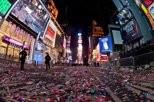 New Year's Eve in Times Square New York by Anthony Quintano, on Flickr