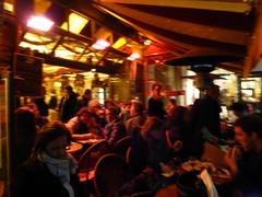 Paris balad bynight: terrasse de bistrot (valkiribocou) Tags: paris balade baladeparisienne serrisbalad randobalade