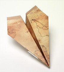 Origami création - Didier Boursin - Atterissage