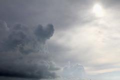 Storm Clouds (Denzil D) Tags: sky gulfofmexico water clouds fishing florida storms marathonflorida fishingthegulf