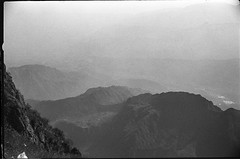 Emeishan2013 (Vasilij Betin) Tags: china trip travel shadow bw mountains art film mystery analog 35mm dark landscape photography blackwhite asia shadows iso400 voigtlander grain hp5 konica emeishan sichuan ilford hexar withoutphotoshop