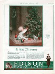 GE December 9, 1922 (JeffCarter629) Tags: ge generalelectric mazdalamps edisonmazdalamps generalelectricchristmas gechristmas gechristmaslights generalelectricchristmaslights