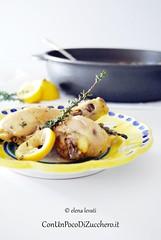 Fusi di pollo al limone e capperi (conunpocodizucchero) Tags: chicken lemon meat carne pollo limone capperi secondidicarne polloallimone piattidicarne fusidipollo fusidipolloallimone carneallimone limoneecapperi cucinareifusidipollo ricettevolocicolpollo