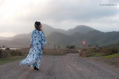 DSC_1254-2 (Writing White Photography) Tags: color nikon carretera viento modelo murcia 18 montaa vestido dreamcatcher d90 calblanque