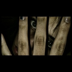 (Mina Lukic) Tags: eye girl face photography eyes hands hand skin fingers ugly hq