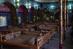 Iranian Restaurant (717Images) Tags: restaurant iran traditional iranian bazaar seating isfahan