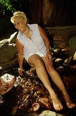 Cape Town South Africa Deer Park Table Mountain Dec 1998 061 Rosalina Feet (photographer695) Tags: cape town south africa deer park table mountain dec 1998 rosalina