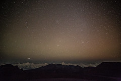 Looking into the creator (Q__J) Tags: light canon stars volcano hawaii lava exposure creator