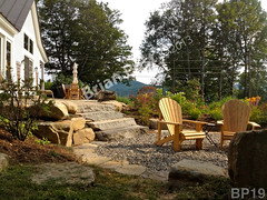 WM Brian Post 19, stone steps, boulders, dry laid stone construction, copyright 2014