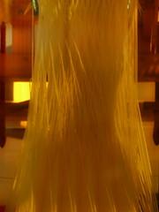 Jacquard Loom ~ Jacquard-Webstuhl (ca. 1873) (hedbavny) Tags: vienna wien wood shadow red selfportrait rot yellow rouge gold austria golden sterreich pattern gelb weaver holz rosso weaving schatten weave muster weber loom jacquardloom 1150 kette schuss selbstportrt webstuhl seide faden jacquard weben 1140 schus
