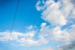 Himmel mit Stromleitungen (emesvau) Tags: himmel stromleitung d3200 ammertal unterjesingen