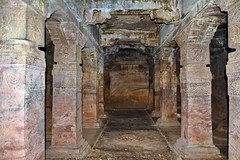 India - Karnataka - Badami Caves - 036 (asienman) Tags: india architecture caves karnataka badami chalukyas vatapi asienmanphotography