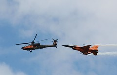 Double Dutch (Topspotter75) Tags: apache f16 ah64 rnlaf fightingfalcon