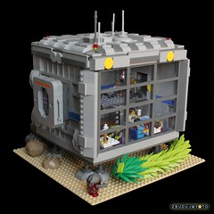 Home sweet home! (the_jetboy) Tags: lego space contest jetboy eurobricks zbudujmyto