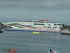 Condor Rapide (Coco the Jerzee Busman) Tags: france st ferry boat ship jersey commodore portsmouth express passenger condor weymouth freight guernsey poole goodwill clipper malo vitesse rapide