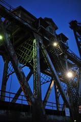 Amtrak Bridge over the Chicago River (Viewminder) Tags: bridge chicago love exploring joy happiness adventure amtrak karma kindness chicagoriver understanding viewminder canalstreetboatyard southcanalrailroadbridge