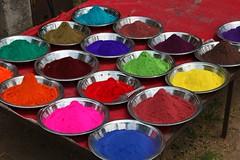 Colours of India (Heaven`s Gate (John)) Tags: street travel india color colour vibrant delhi stall scene powder 50faves 10faves 25faves johndalkin heavensgatejohn coloursofindia