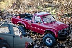 DSC_0647 (Strangely Different) Tags: scale rock toy outside amigo rocks jeep 4x4 110 pickup hobby toyota bruiser bj yj tamiya landrover fj rc radiocontrolled cruiser crawler xj hilux scaler axial d90 d110 gelande trailfinder rc4wd scalecrawler strangelydifferent rceveryday
