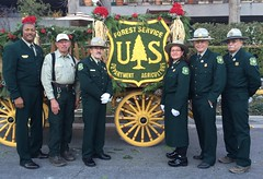 A Formal Occasion (USFS Region 5) Tags: flowers southwest rose forest logo wagon pacific thomas chief parade moore randy service shield pasadena region regional forester 2015 usfs tidwell roseparade2015