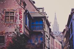 #034 (bruit_silencieux) Tags: street house architecture canon paint strasbourg cathédrale alsace 7d 365 maison alsacienne 365project ruesaintehélène sigma35mmf14art