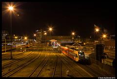 Groningen 4-2-2015 (Henk Zwoferink) Tags: station ns cs groningen henk verbouwing centraal gtw arriva stadler zwoferink