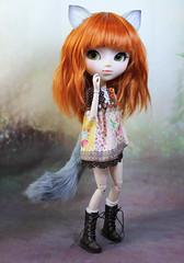 grey fox parts (Sparrow ) Tags: shop fur wolf tail dal pullip custom sparrows mymelody