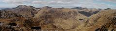 Beinn Sgritheall, Beinn na-h Eaglaise, Beinn nan Caorach and Beinn Clachach from Druim Fada (Mumbles Head) Tags: mountains scotland highlands grahams glenelg munros corbetts druimfada