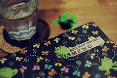 menu book (N.sino) Tags: menu restaurant book kichijoji    xpro1 xf35mmf14r