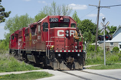 CP Streetsville Job 3 (applegathc) Tags: toronto ontario train rail cp mississauga brampton streetsville
