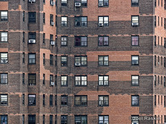 Windows & Bricks - LaGuardia (Joel Raskin) Tags: nyc windows urban les lumix apartments manhattan bricks lowereastside apartmentbuildings brickbuildings nycha newyorkcityhousingauthority fz1000