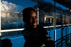 (Michelle Rick) Tags: street nyc brooklyn coneyisland child streetphotography amusementpark gothamist waterslide 2015