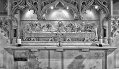 The Last Supper. (Jason Connolly) Tags: church mono nikon tamron blackpool thelastsupper holytrinity holytrinitychurch placeofworship holyplace reredos holyground nikond750 tamron1530mm tamron1530