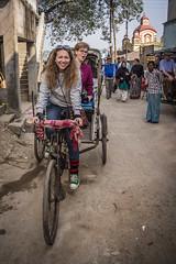 My rickshaw (Maria Dashkevich) Tags: cruise india kolkata ganga westbengal northeastindia hoogli
