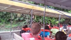 Monkey on tour boat 2 (jbh1965) Tags: city panama 2015
