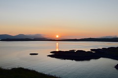 Sunset over Duirinish (rustyruth1959) Tags: sunset sea sky orange seascape mountains water landscape coast scotland nikon scenery glow isleofskye outdoor duirinish sigma1020mm nikond3200 ardtreck minginish