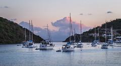 Harbor Sunset (Alida's Photos) Tags: sailing tropical caribbean bvi britishvirginislands
