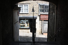 Streets of Frome (lazy south's travels) Tags: uk england urban english stairs town quiet market britain steps somerset british passage quaint passageway frome