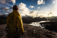 (justinbastien) Tags: winter snow male landscape climb nationalpark yosemite summit highsierras tuolumnemeadows mikeforest flickrtravelaward