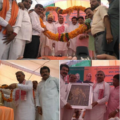 291 th anniversary celebrations Ahilyabai Holkar Upsti S.P Singh Baghel !! (spsinghbaghel) Tags: up for election sp join leaders vote singh pradesh bjp uttar 2017 baghel