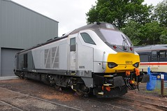68 015 - Kidderminster (GreenHoover) Tags: svr severnvalleyrailway svrdiesel diesellocomotive diesel dieselloco dieselgala2016 kidderminster class68 68015 chilternrailways vossloh