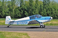 G-CESA Jodel DR.1050M-1 Excellenca (Replica) T J Bates Sturgate  EGCS Fly-In 05-06-16 (PlanecrazyUK) Tags: sturgate egcs fly in 050616 lincoln aero club ltd gcesa jodeldr1050m1excellencareplica tjbates flyin