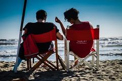 I play my way (robertofaccenda.it) Tags: sea people primavera praia beach mar italia mare seasons faces playa persone tuscany fujifilm toscana spiaggia viareggio stagioni facce