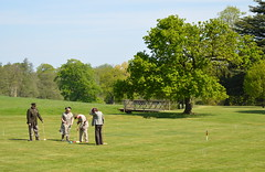 Croquet on The Lawn (dhcomet) Tags: game sport costume uniform estate beds bedfordshire shuttleworth croquet